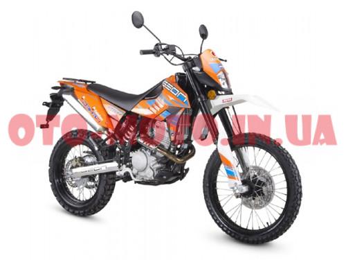Мотоцикл GEON Dakar 250 TwinCam Enduro 2020 6-gears / 5-gears